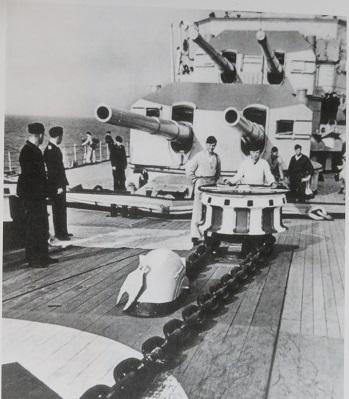 プリンツオイゲン艦首錨鎖2