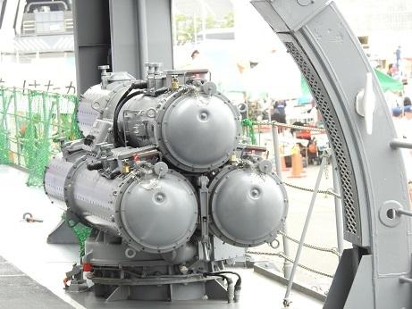 3連装短魚雷発射装置