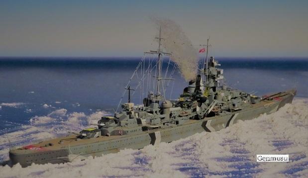 プリンツオイゲンバルチック海を渡る