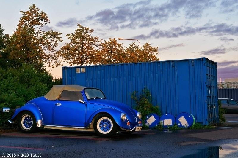 絶景探しの旅 - 0553 スカンジナビアブルーいっぱいの夜明けの風景 (フィンランド ヘルシンキ)