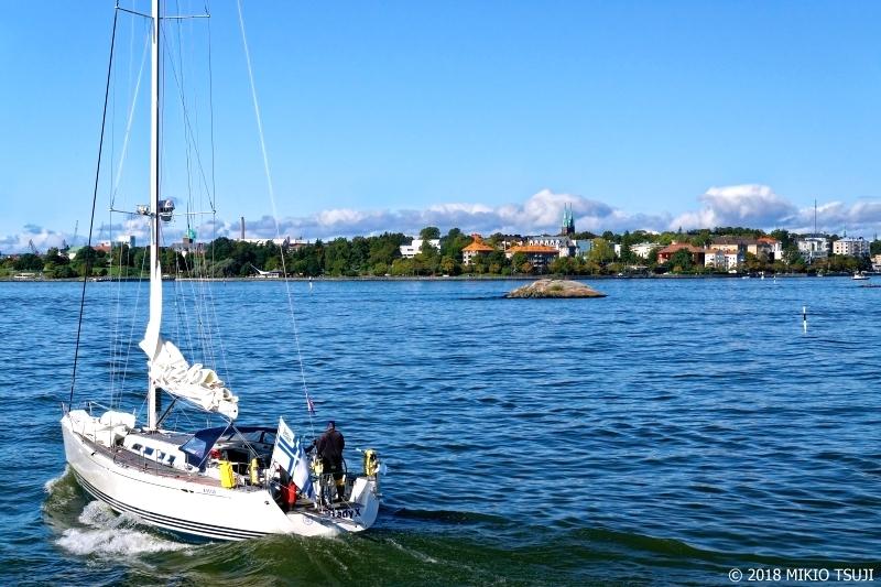 絶景探しの旅 - 0566 北欧の海に繰り出すヨット (フィンランド ヘルシンキ)