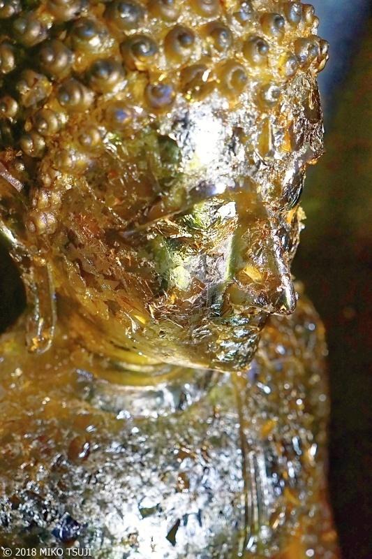 絶景探しの旅 - 0587 輝く金箔の仏像 (ワット・ヤイ・チャイ・モンコン/タイ アユタヤ)