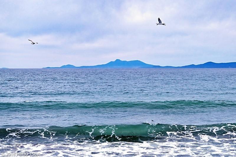 絶景探しの旅 - 0596 国後島を望む (北海道 羅臼町)