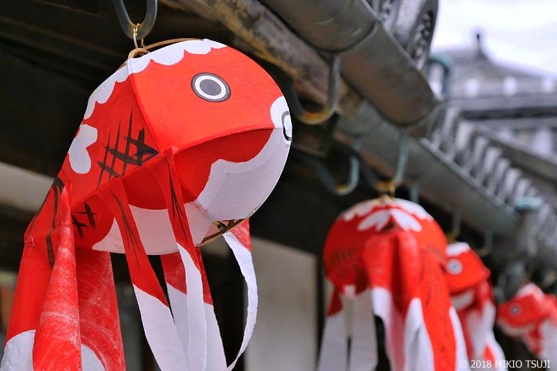 絶景探しの旅 - 0615 白壁の町並みの金魚ちょうちん(山口県 柳井市)