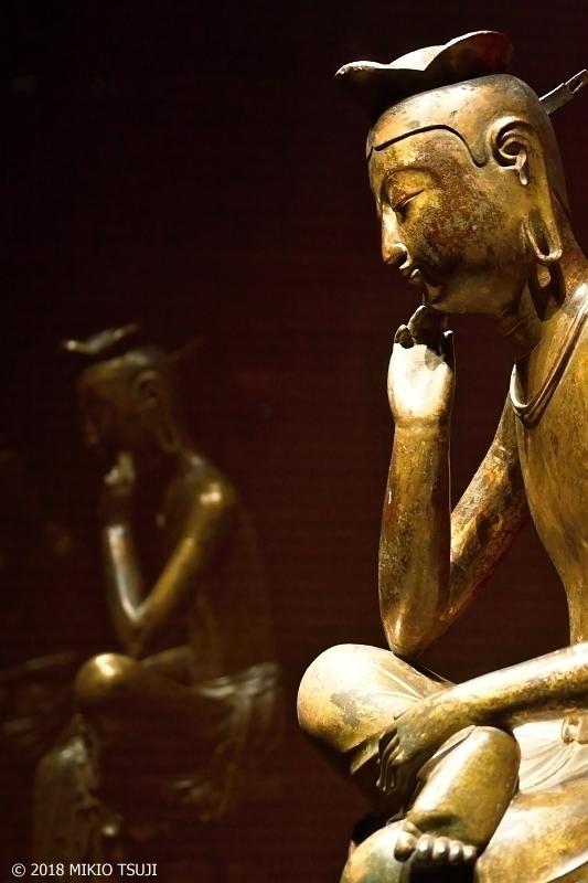 0620 映し出される心 金銅弥勒菩薩半跏思惟像(国立中央博物館 韓国 ソウル)