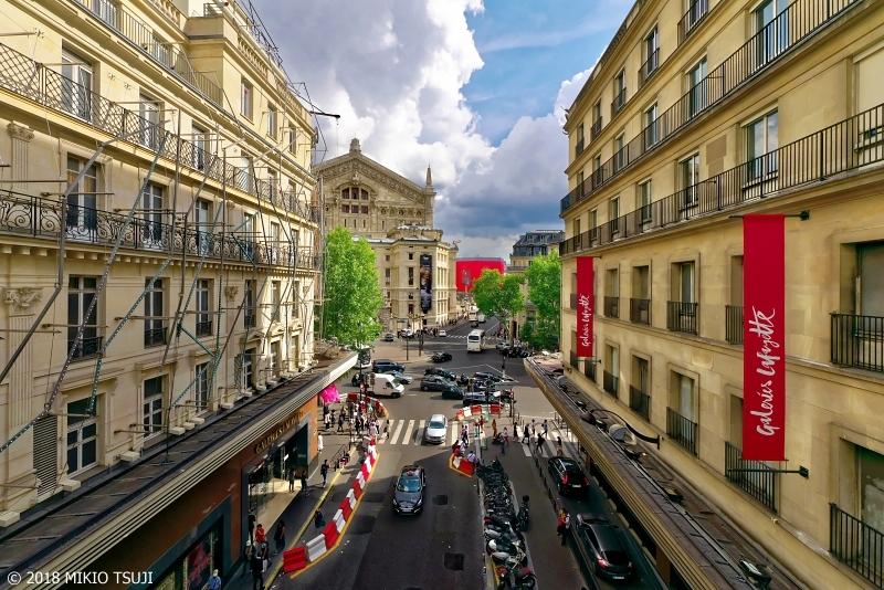 絶景探しの旅 - 0625 ギャラリーラファイエットとオペラ座の風景 (フランス パリ)