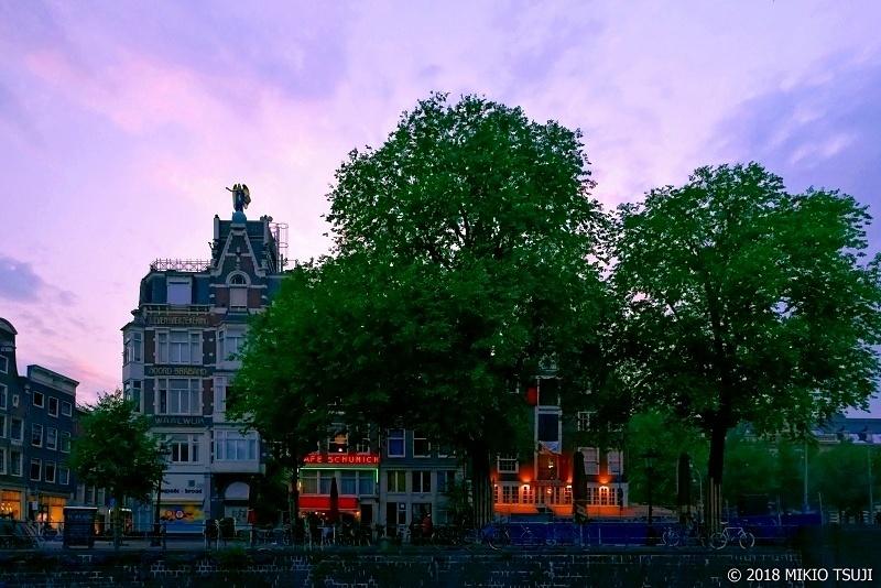 絶景探しの旅 - 0631 夕暮れ時(オランダ アムステルダム)