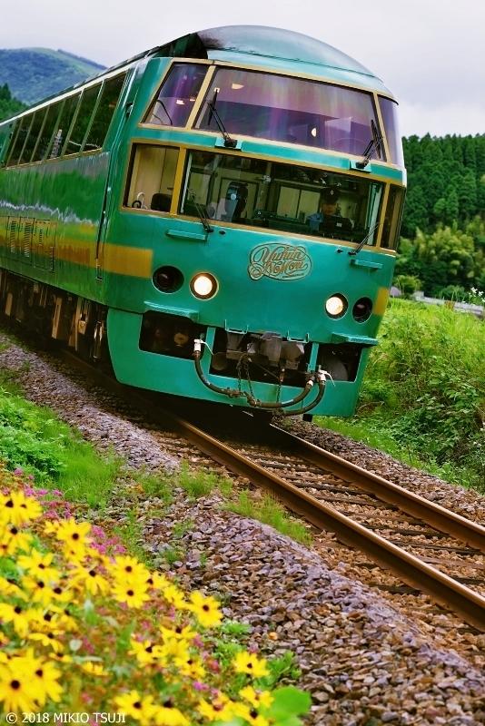 絶景探しの旅 - 0635 極上の旅列車 特急ゆふいんの森 (大分県 由布市)