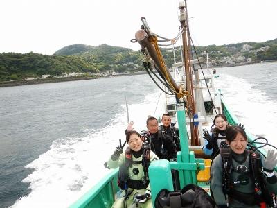 GW ボートへ